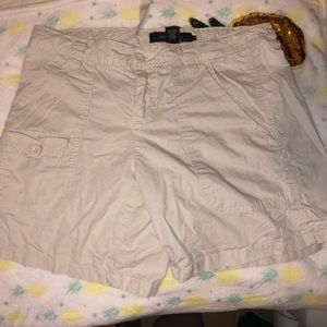 Calvin Klein Jeans Short Khaki Color